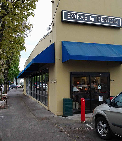 Sofas by Design Storefront
